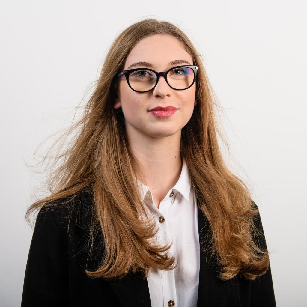 Przewodnicząca Wydziałowej rady samorządu studenckiego wydziału architektury Wiktoria Duś